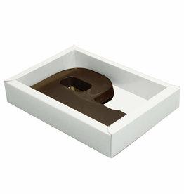 Shiny White box with transparant lid