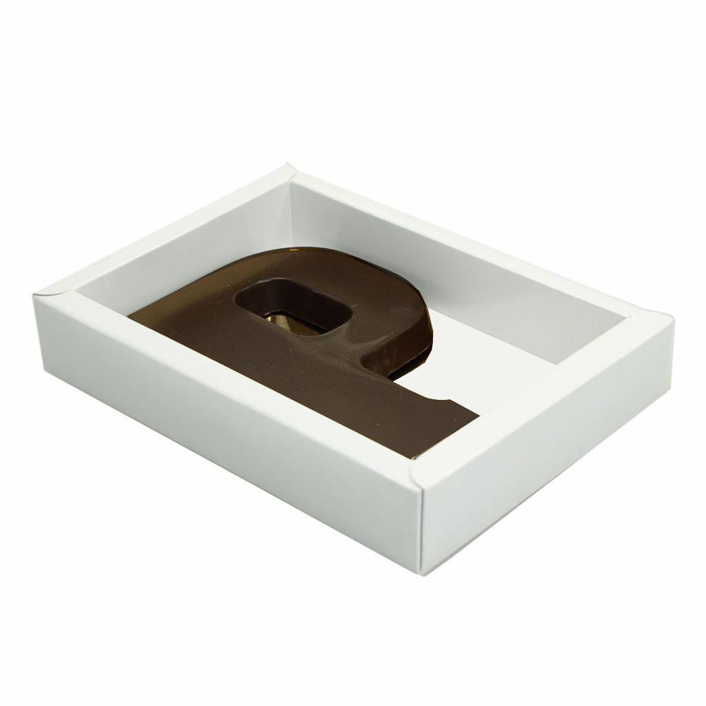 Boîte blanc avec couvercle transparant