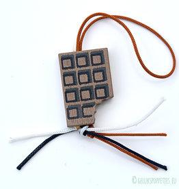 """Pendentif de chocolat """"Pralibar"""""""