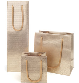 Grid bag  - Natural Gold - 5 pieces
