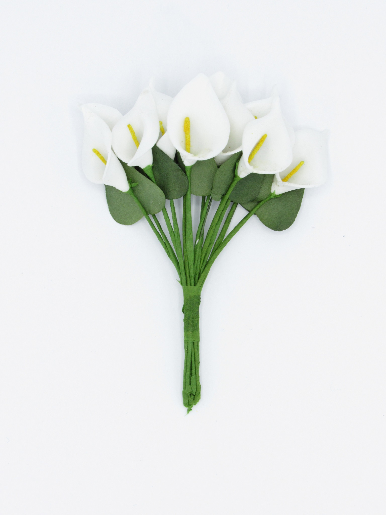 Calla Lily on stem - white - Ø 20 *85mm  - 144 pieces