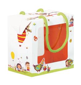 """""""The Bambino"""" hen Easter egg box"""
