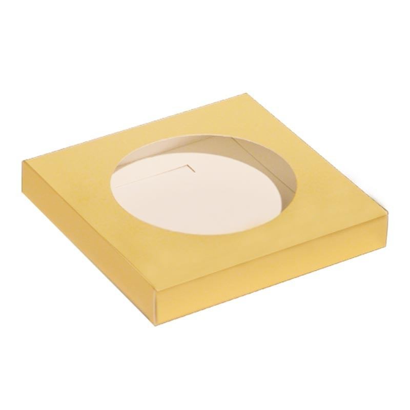 Paaseidoos sokkel - goud