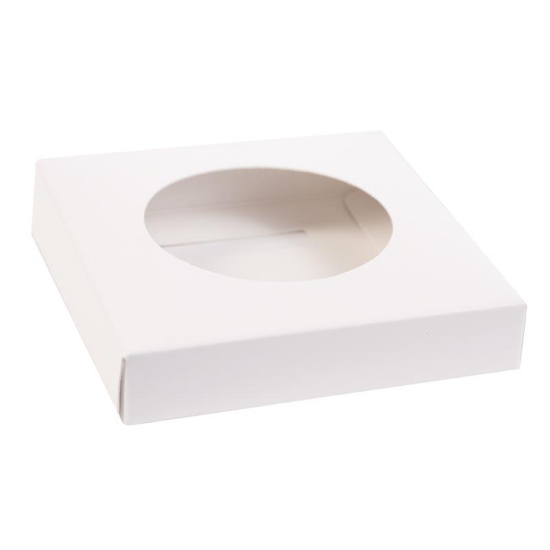 """Easter egg box """"Via Antica"""" -  white gold"""