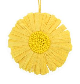 Sonna deco Anhänger Handmade  - Gelb