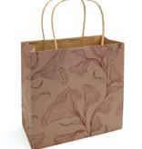 Floralice bolsa de papel - Marble Rose - 5 unidades