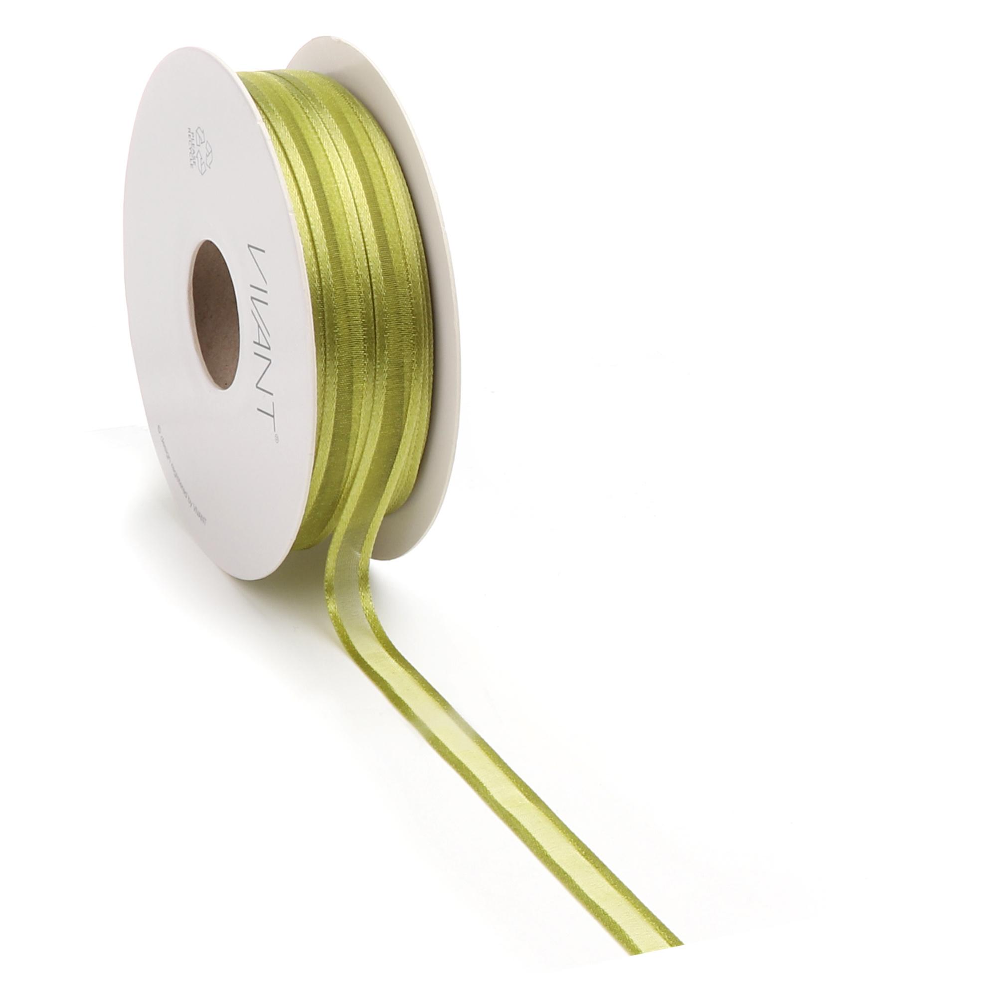 Prego woven edge Band - Spring Green