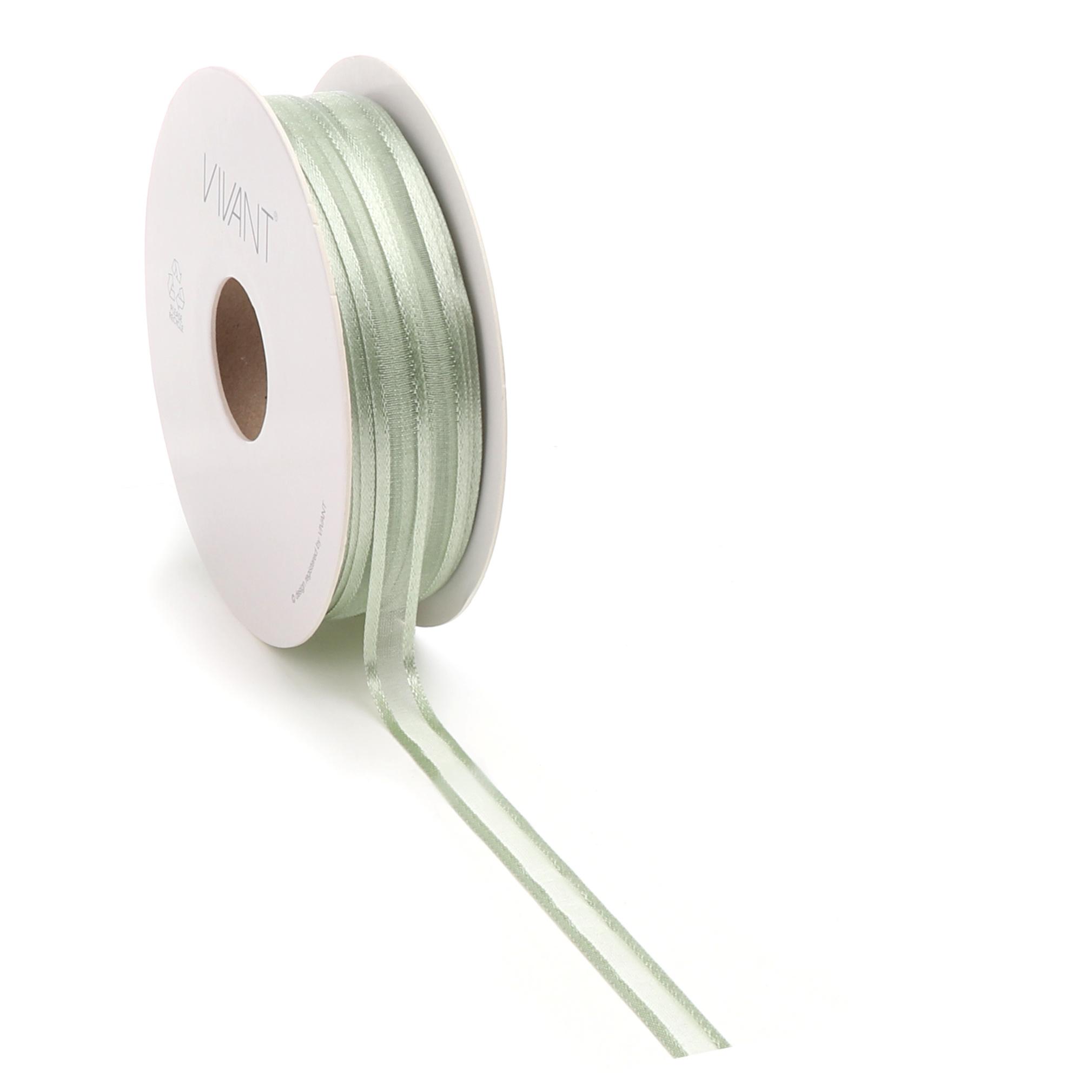 Prego woven edge Ruban - Light Olive