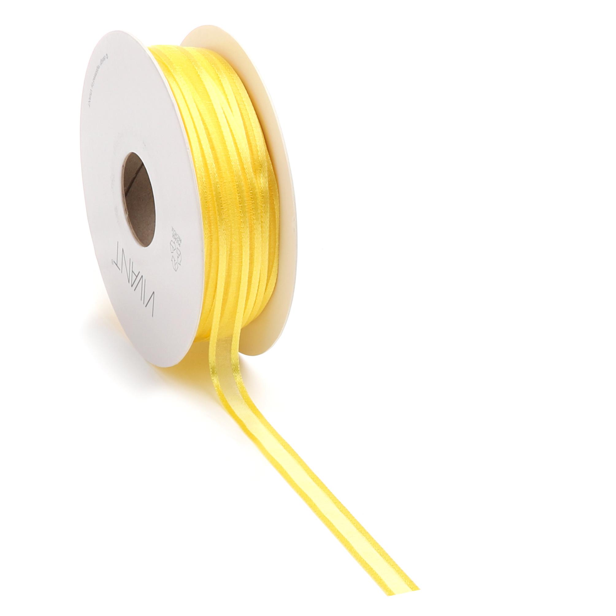 Prego woven edge Band - Gelb
