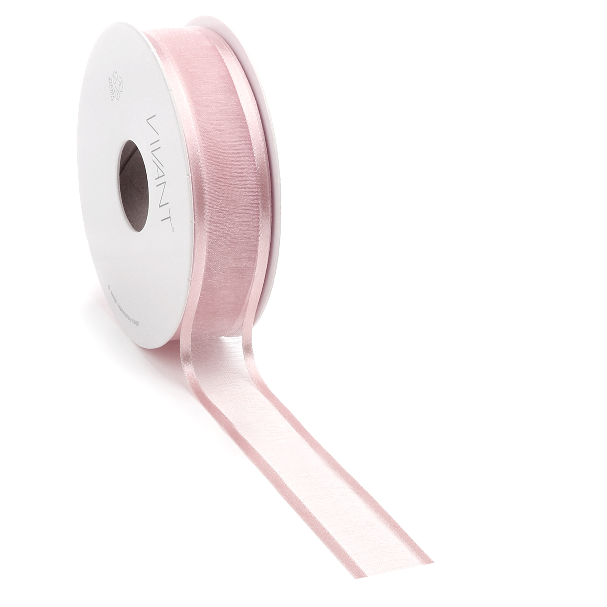 Prego woven edge Band - Old Rose