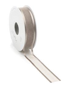 Prego woven edge Band - Taupe