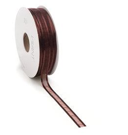 Prego woven edge Band - Braun