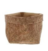 Bolsa de  corcho con forro yute - obtenible en 2 tamaños