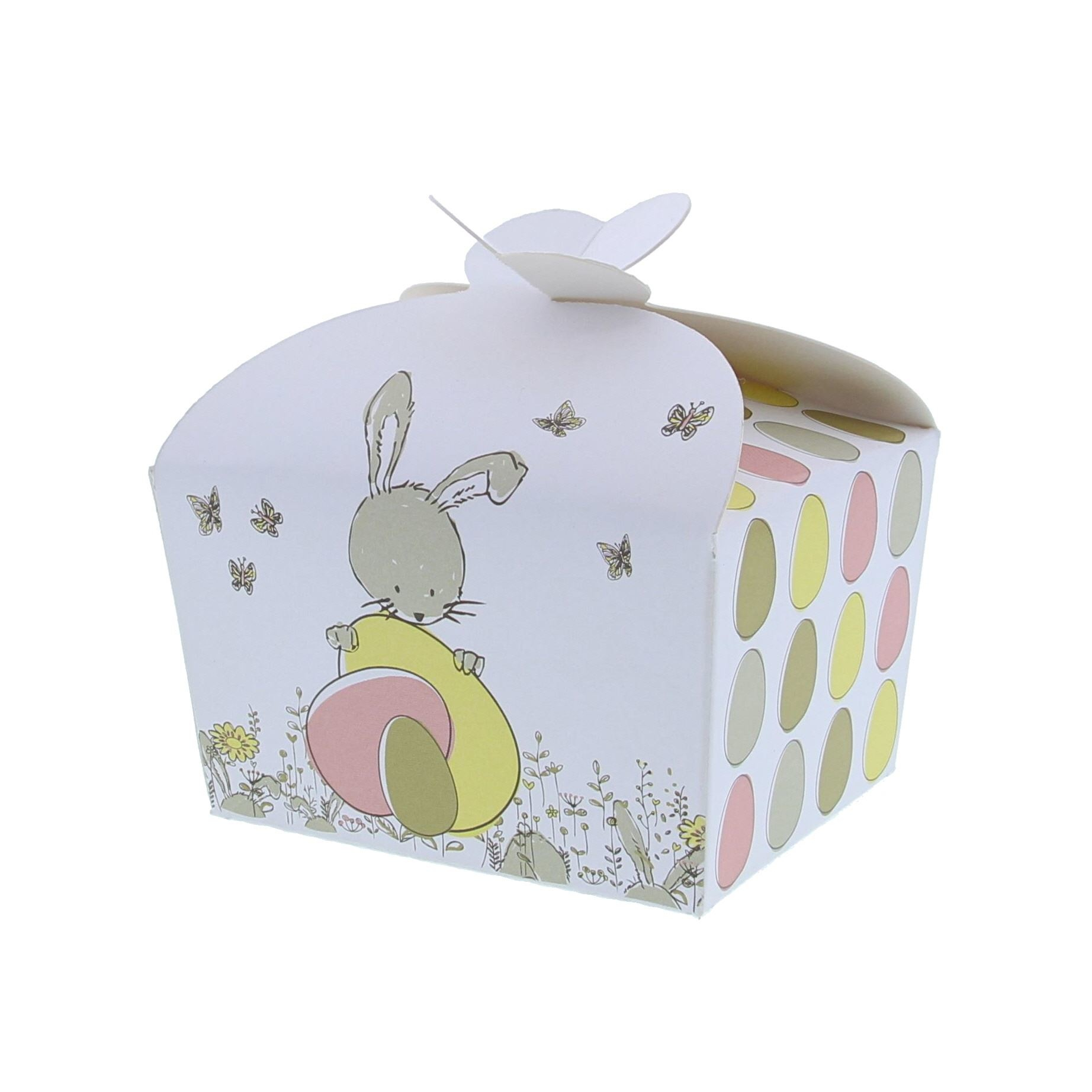 """Butterfly Box """"Bunny Swing"""" 250 grams - 105*85*85mm - 50 pieces"""