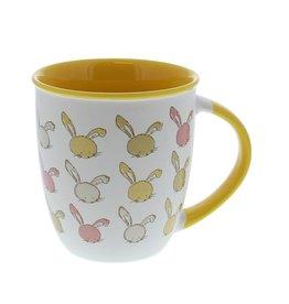 """""""Bunny Swing"""" konijn hoge beker"""