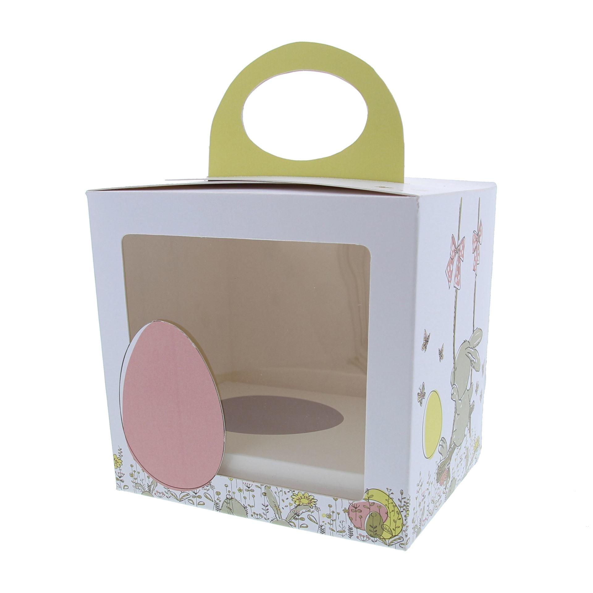 """Osterei Schachteln """"Bunny Swing"""" mit Sockel"""