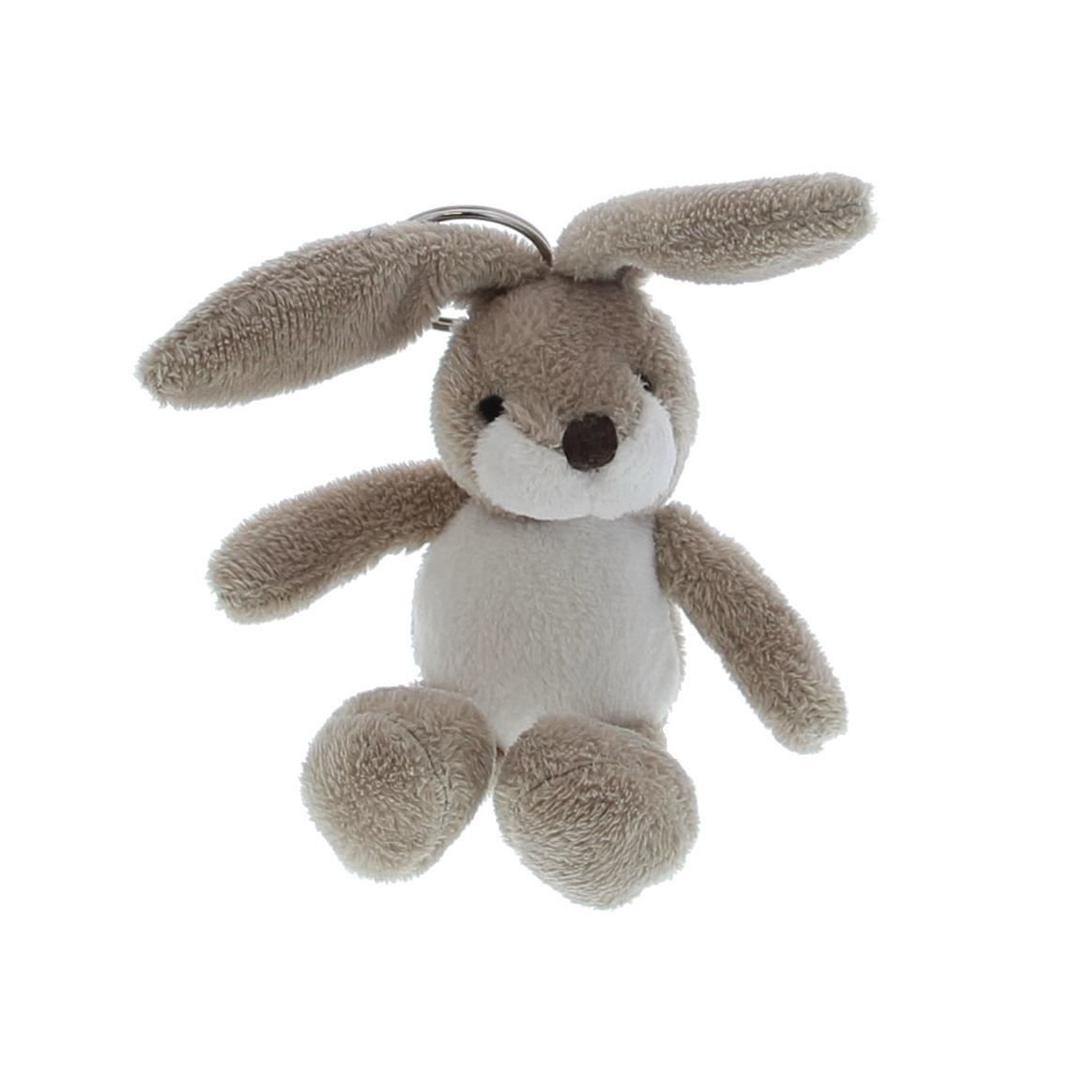 """Rabbit """"Flappy"""" key-ring  - 70*60*10mm - 12 pieces"""