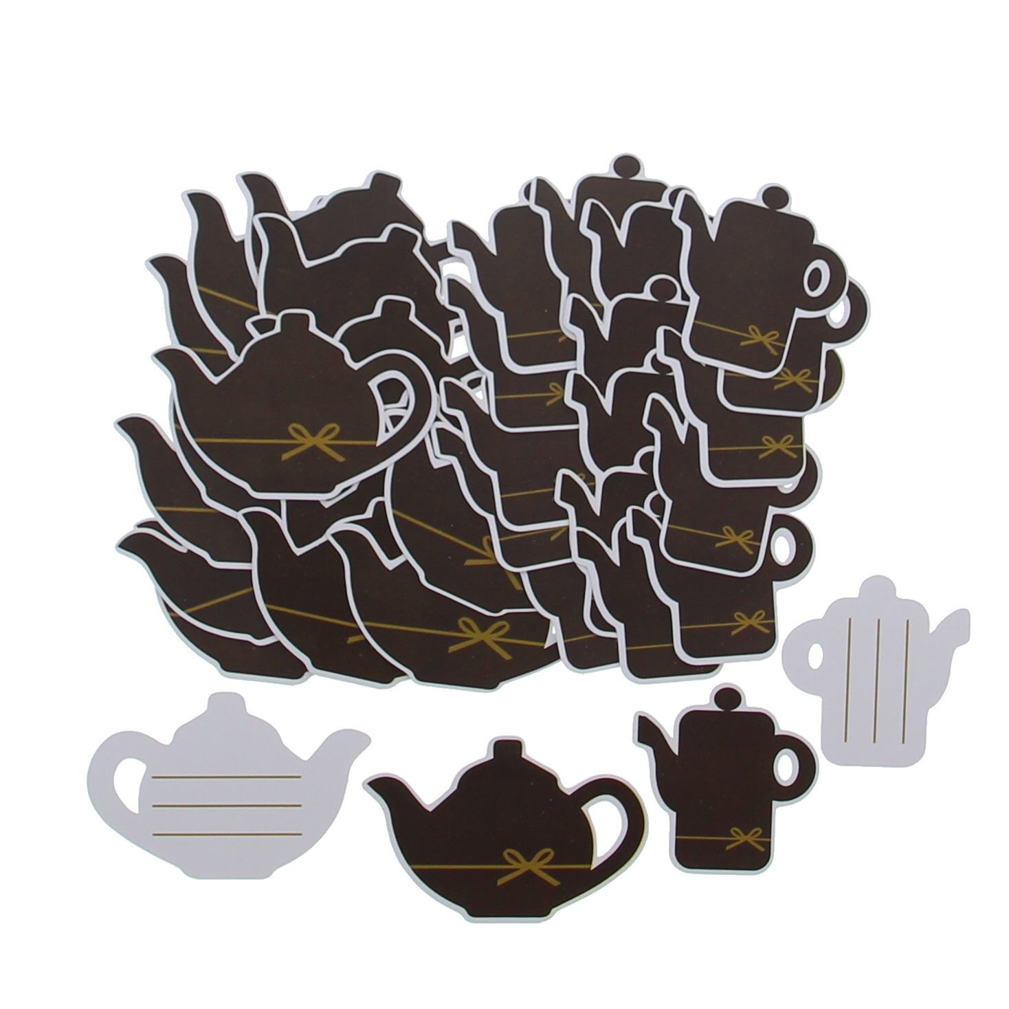 """Label """"Goldy"""" Chocolate coffee pot and teapot- 72 pieces"""
