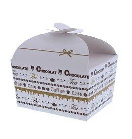 "Ballotin vlindersluiting ""Goldy"" Chocolate 250 gram"