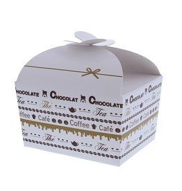"Boîte papillon ""Goldy"" Chocolate 250 grammes"
