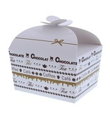 "Boîte papillon ""Goldy"" Chocolate 500 grammes - 125*105*100mm - 48 pièces"