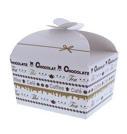 "Ballotin vlindersluiting ""Goldy"" Chocolate 500 gram"
