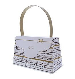 """Goldy"" Chocolate handbag"