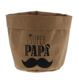 """""""Moustache"""" paper bag"""