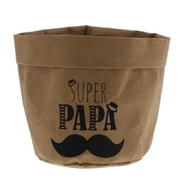 """Moustache"" papieren zak"