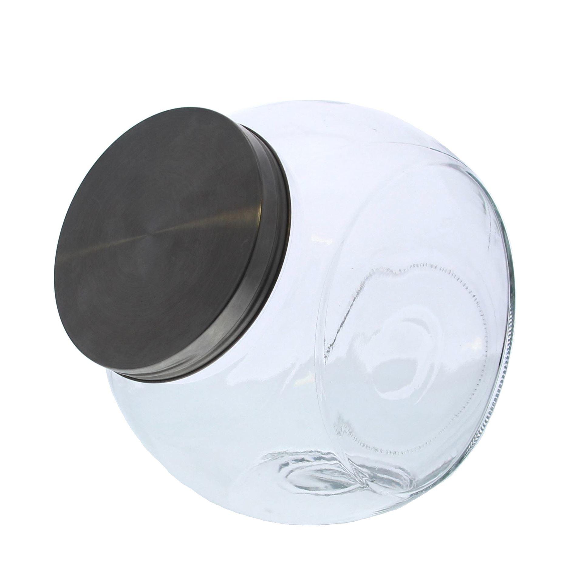 Glas Metall Schraubverschluss - verfügbar in 4 Massen