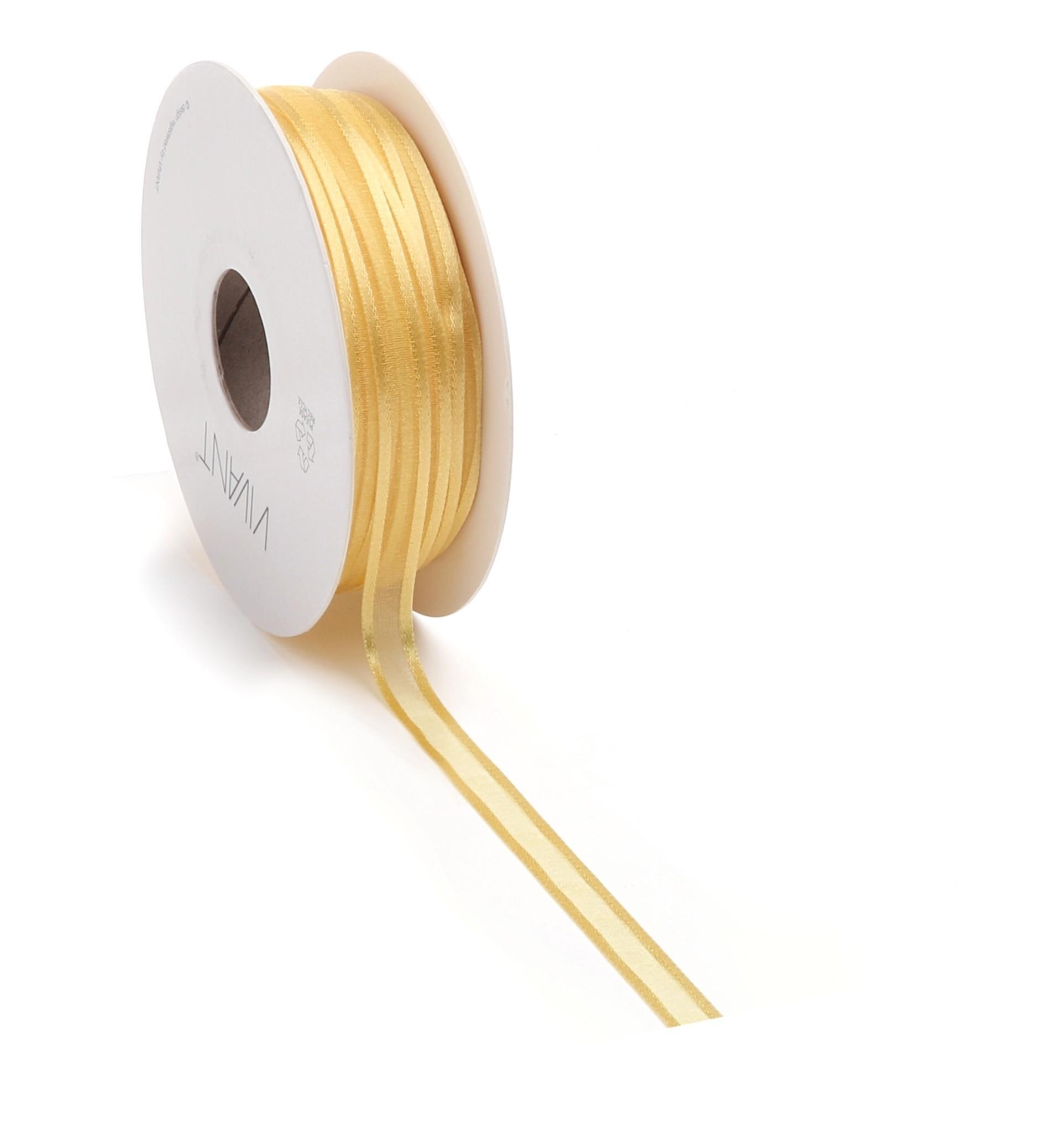 Prego woven edge Ruban - or