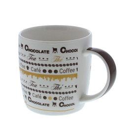 """Goldy"" chocolate Tasse"