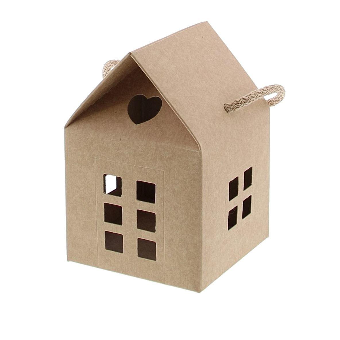 """Haus """"Avana"""" mit  Kordel - Kraft - verfügbar in 5 Massen"""