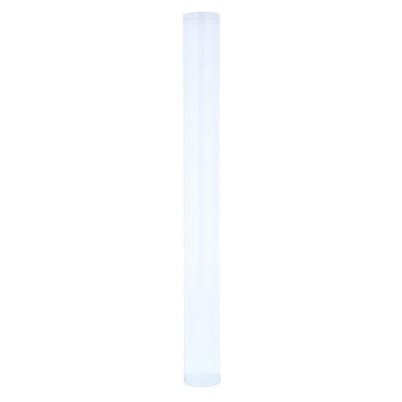 Transparente Röhrenbox  mit Deckel  - 50*50*500 mm - 50 Stück