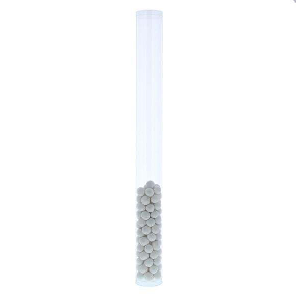 Transparante  koker met  deksel  - 50*50*500 mm - 50 stuks