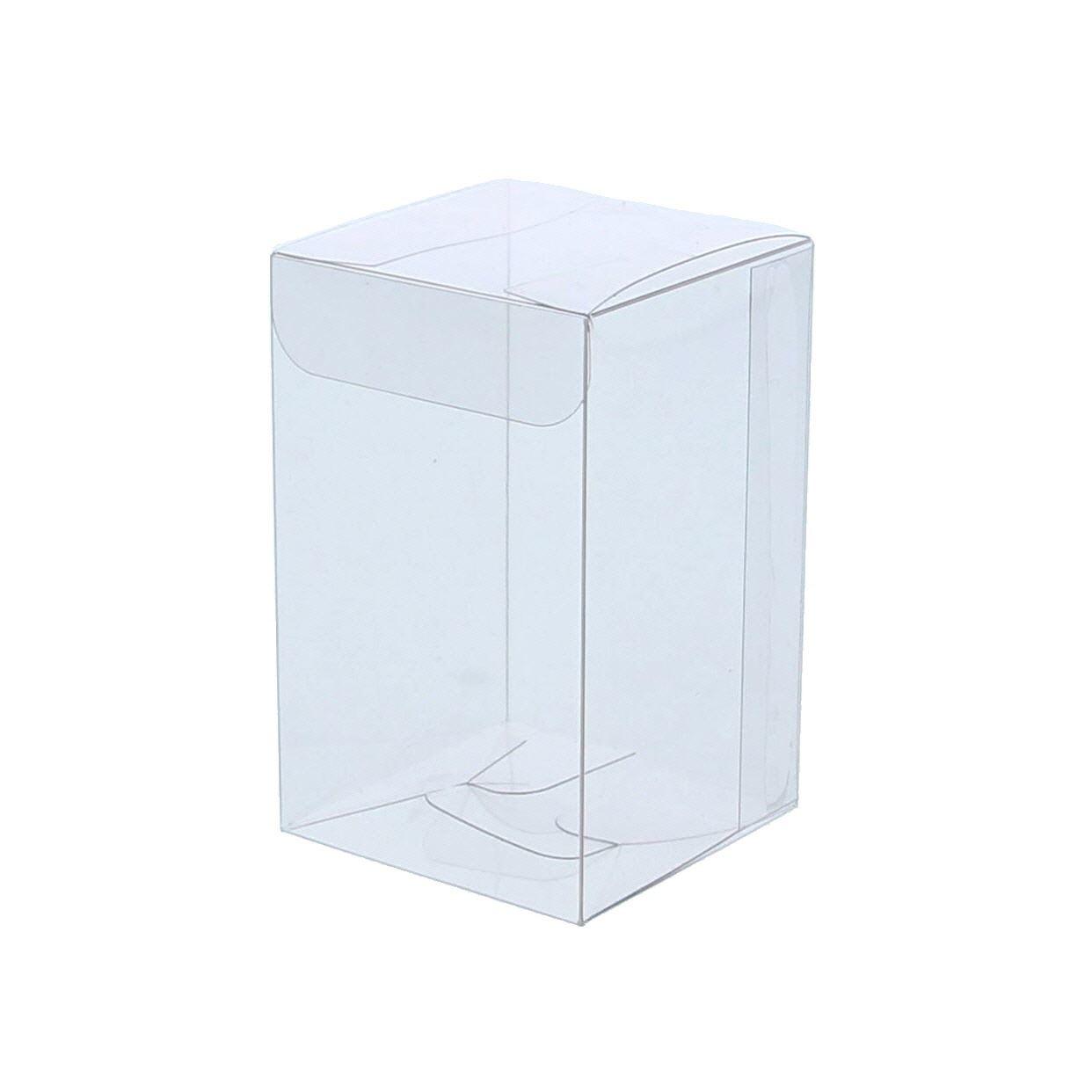 Transparanten Schachtel mit Deckel - 200 Stück