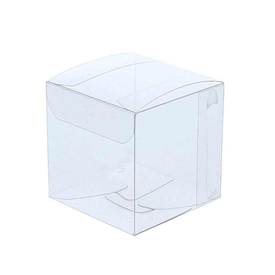 Transparanten Schachteln mit Gold Einsatz