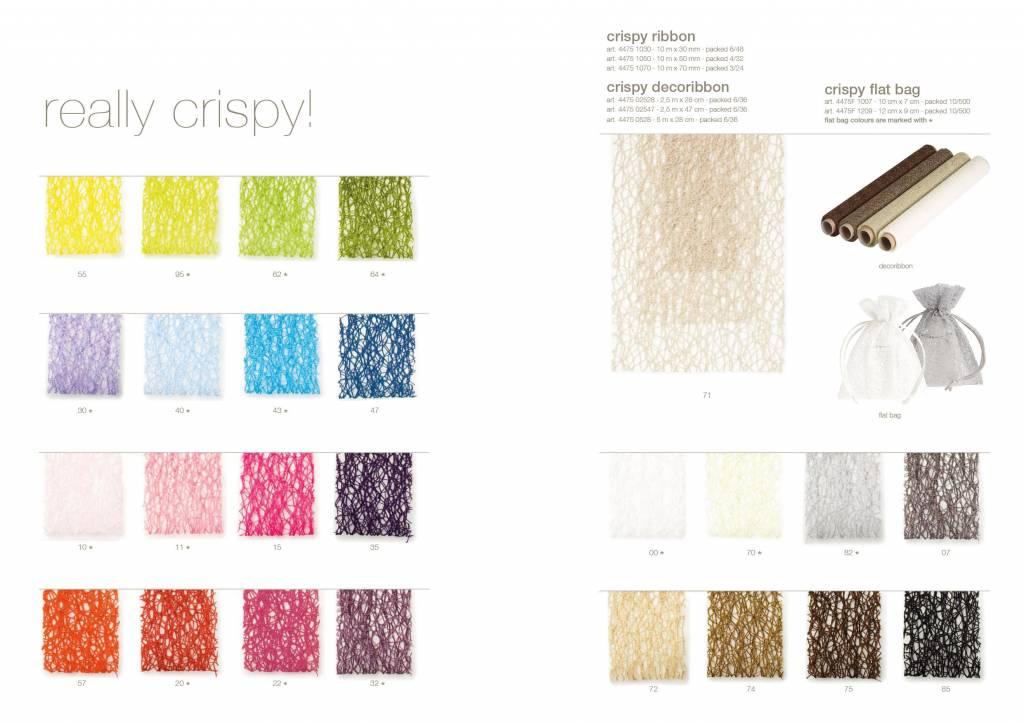 Crispy ruban - Taupe/ Tamarind