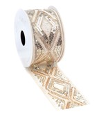 Figura woven edge Band - Gold