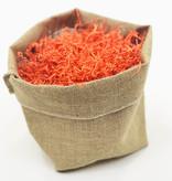 Sizzle filling material paper - orange - 0,5 kg