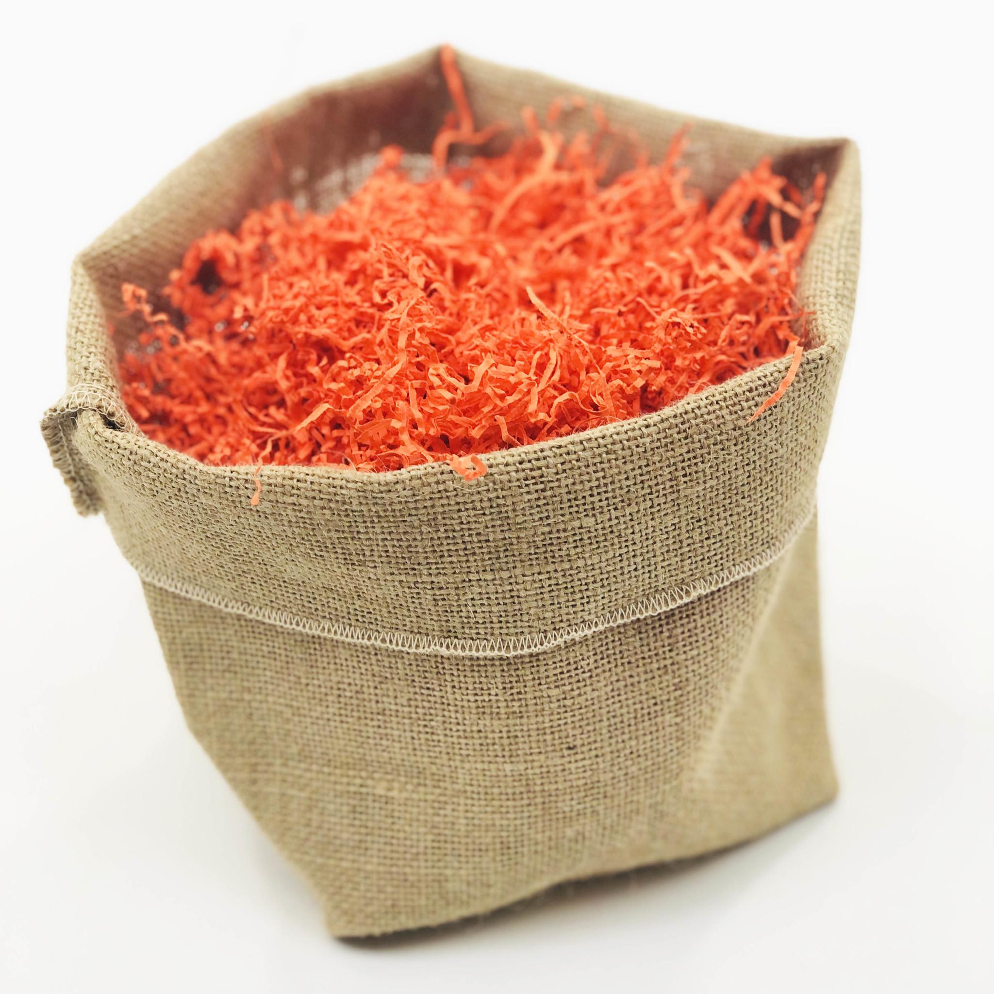 Sizzle Füllmaterial Papier - Orange - 0,5 kg