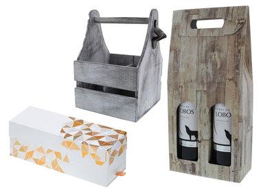 Boîtes à vin