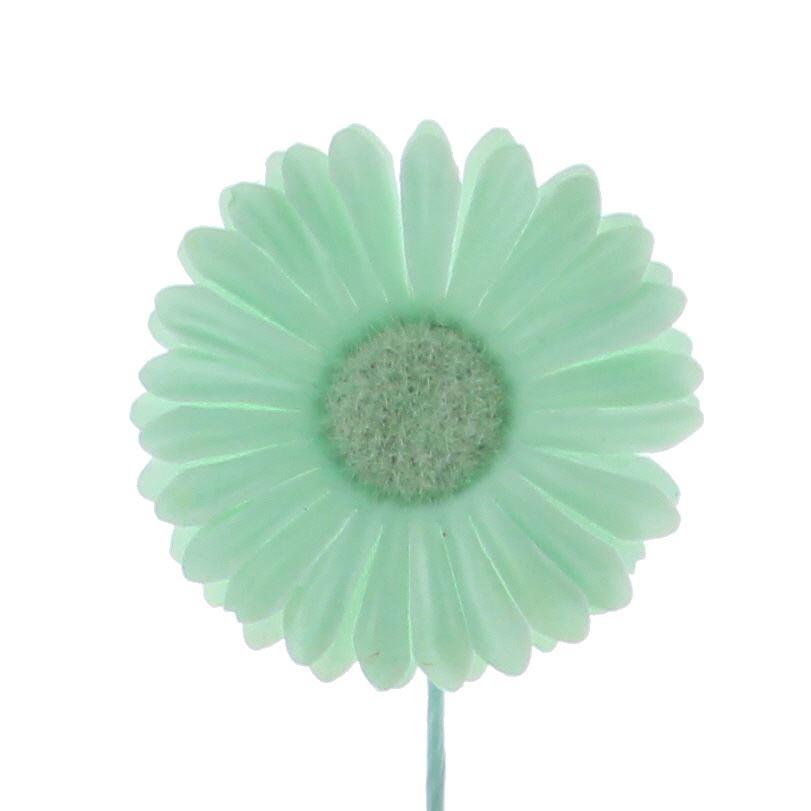 Flower Germini - 65mm - Glacier - 96 pieces