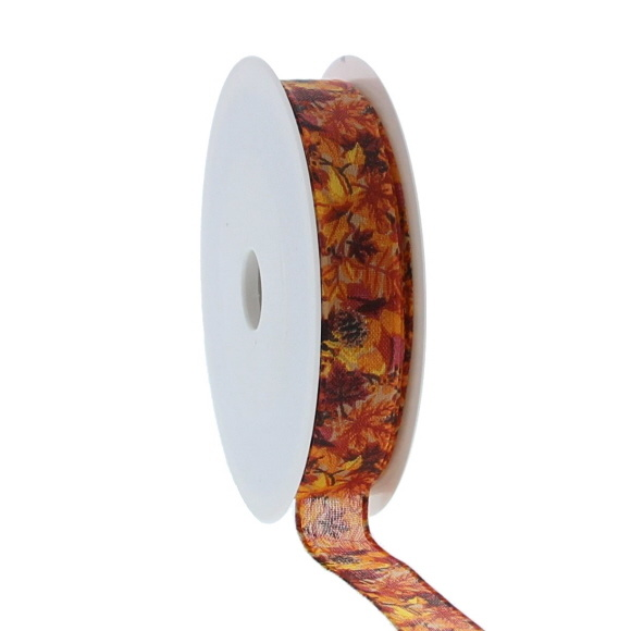 "Band  ""Autumn fruit"" - 15 mm - 20 m"