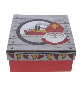 """Saint Nicholas """"Party"""" square Box with lid"""