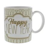 """Becher """"Sparkle"""" Happy New Year -  80*120*95 mm - 12 Stück"""