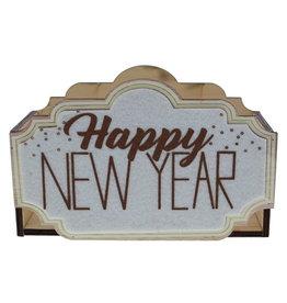 "Panier ""Sparkle"" Happy New Year"
