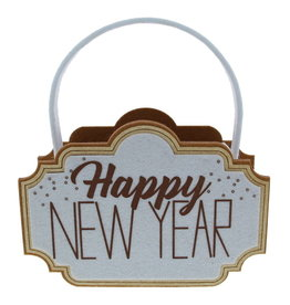 """Sparkle"" Happy New Year basket"