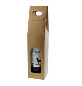 Caja botella  - oro