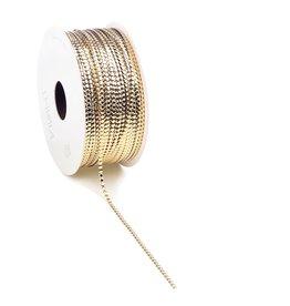 Circlé  curly Ribbon - gold